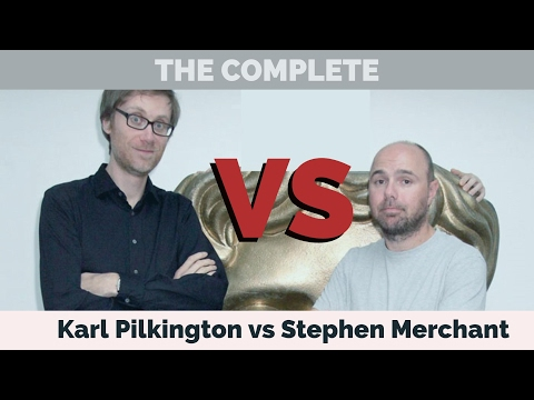 The Complete Karl Pilkington vs Stephen Merchant (A compilation with Ricky Gervais) Doctor Yak