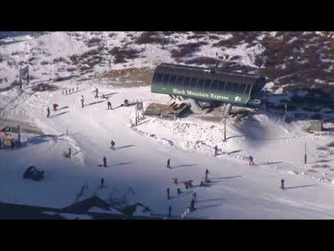 RAW: Chopper video from Opening Day 2017 at Arapahoe Basin