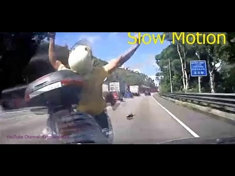 Dash Cam Mania in Asia, Mostly in Taiwan, Real Road Accidents Captured on Camera