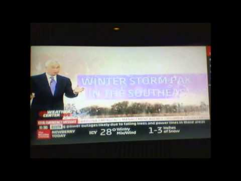 Weather Channel Winter Storm Pax Coverage