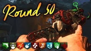 """🏆""""NACHT DER UNTOTEN"""" REMASTERED ROUND 50 CHALLENGE 🏆 (Zombie Chronicles DLC 5 Gameplay)"""