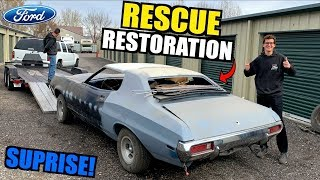 Download Secretly Restoring our Uncle's 1972 Ford Torino After SITTING for 17 Years! Mp3 and Videos