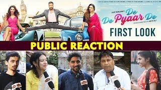 De De Pyaar De FIRST LOOK | PUBLIC REACTION | Ajay Devgn, Tabu, Rakul Preet