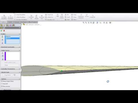 Aviation airfoil project