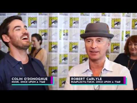 Robert Carlyle & Colin O'Donoghue: 5 things about Ireland & Scotland