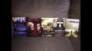 My TV Show DVD collection Once Upon a Time, Damages, Shameless and more