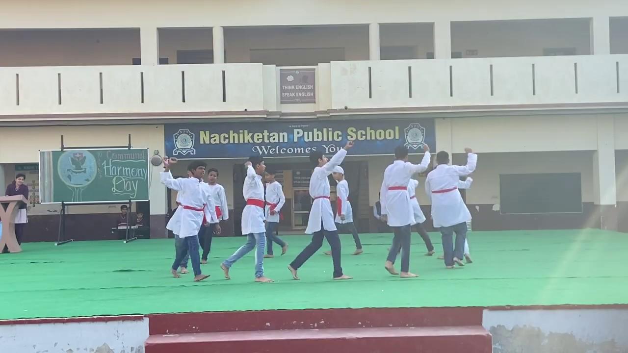 Nukad Natak | Communal Harmony Day Celebration | Nachiketan Public School | Ellenabad