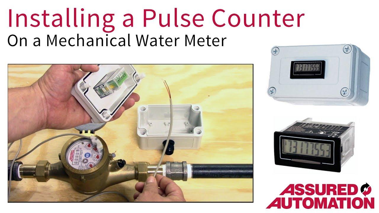 make your water flow meter into a digital water meter [ 1280 x 720 Pixel ]