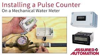 جعل الخاص بك تدفق المياه متر في المياه الرقمية متر