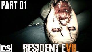 Resident Evil 7 Gameplay German Part 1 - So ein Drecksloch - Let