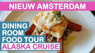 Nieuw Amsterdam: Main Dining Room Food Tour - Alaska (Holland America)