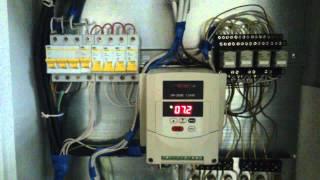 видео Блок управления вентиляцией помещения