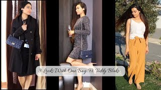 3 Different Looks with One Bag Ft. Teddy Blake | Teddy Blake Review