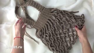 Видео обзор сумки-авоськи из полиэфирного шнура