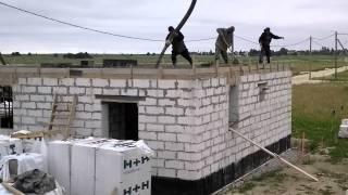 СК Ситируф: Проект дома из пеноблоков в п.Дятлицы. Заливка бетона. Заливка плиты(, 2014-06-20T11:51:07.000Z)