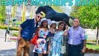 Happy Mother s Day + Belmont Racetrack (5.10.15 - Day 510) daily vlog