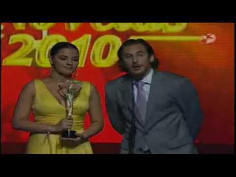 Luis Gimeno Mejor Primer Actor Premios TVyNovelas 2010