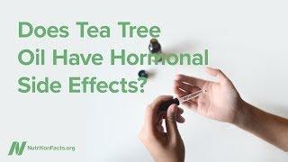 Má olej z čajovníku australského (tea tree oil) účinky na hormonální soustavu?