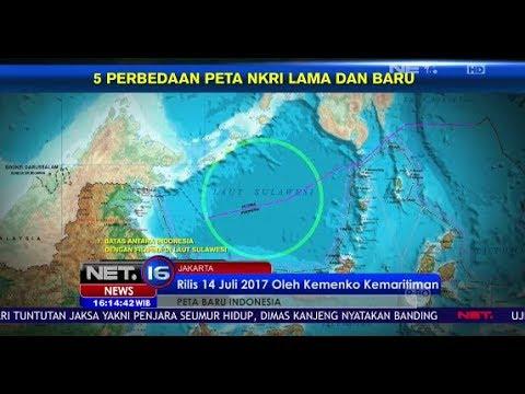 Peta Baru Indonesia  - NET16
