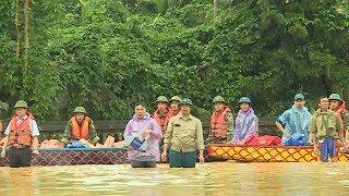 Tin Bão Mới Nhất : Hà Nội cấp thuốc phòng bệnh cho người dân vùng ngập lụt huyện Chương Mỹ