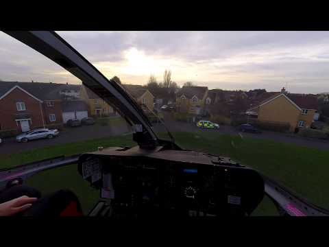 HEMS (Air Ambulance) - from the pilot seat