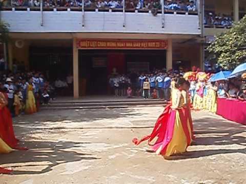 Múa lụa Thần Thoại - G2 THPT Triệu Sơn 3