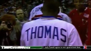 NBA 2015 Isah Thomas not loving Pippen