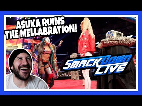 Reaction | ASUKA RUINS CARMELLAS ROYAL MELLABRATION! | WWE Smackdown Live London May 15, 2018