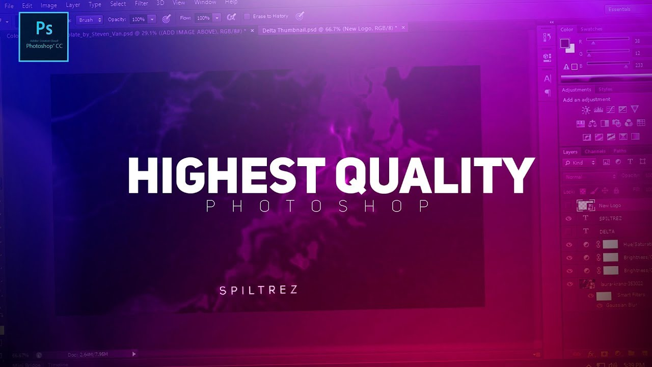 Photoshop Tutorial : Export Images For The Highest Quality