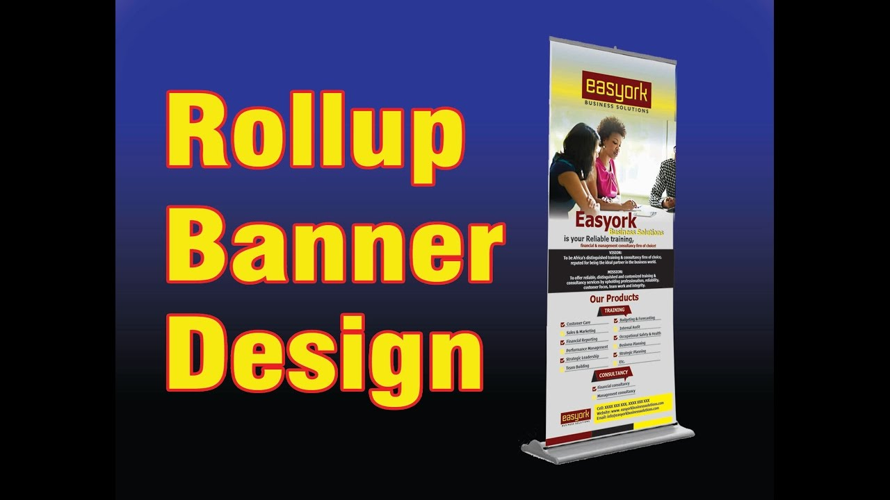 Design for roll up banner - Design For Roll Up Banner 55