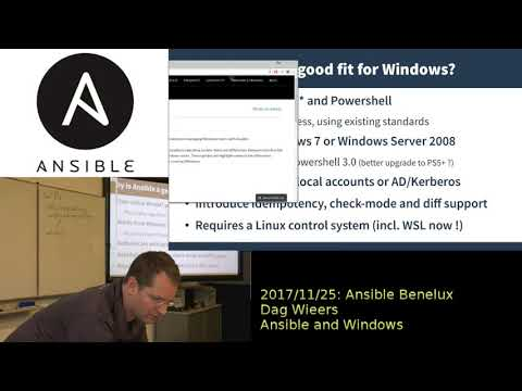 Dag Wieers -- Ansible and Windows