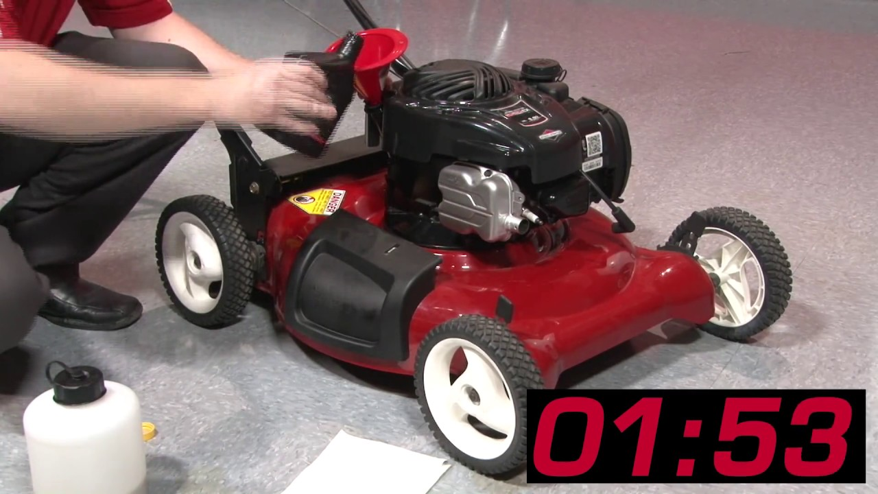 The 3 Minute Small Engine Oil Change From Briggs