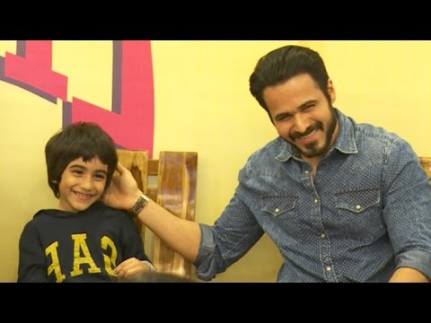Emraan Hashmi With CUTE Son Ayaan Who Fought CANCER & Survived