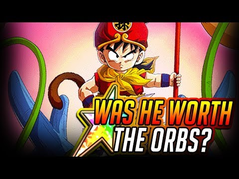 THE TIME IS NOW! WAS HE WORTH THE ORBS?! 100% LR KID GOHAN SHOWCASE! DBZ Dokkan Battle