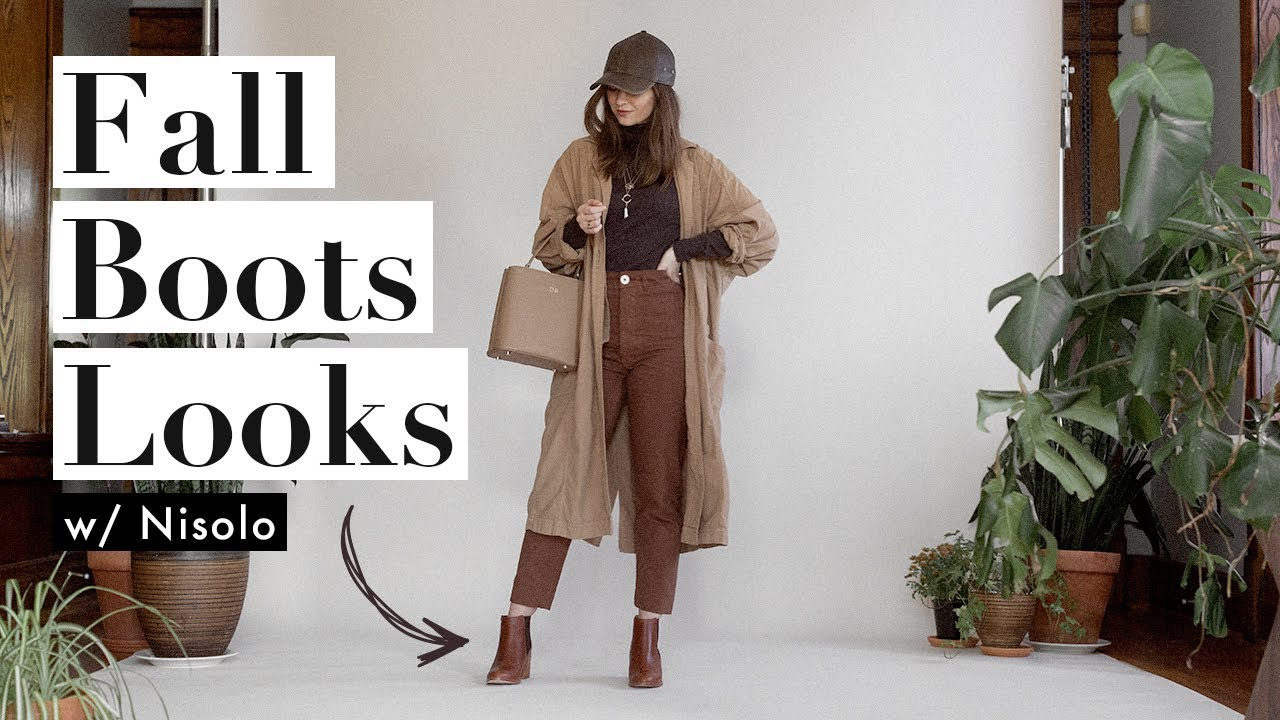 [VIDEO] - How I Style Fall Boots Outfit Ideas X Nisolo   Dearly Bethany 1