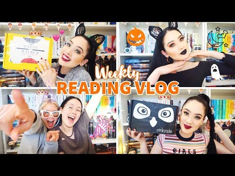 EXCITING DOUBLE UNBOXING, PANIC! AT THE DISCO & CELEBRATING✨Weekly Reading Vlog: 1-7 October