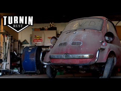 Runnin On Empty | 1959 BMW Isetta Runs After 30 Years | Turnin Rust Episode 5