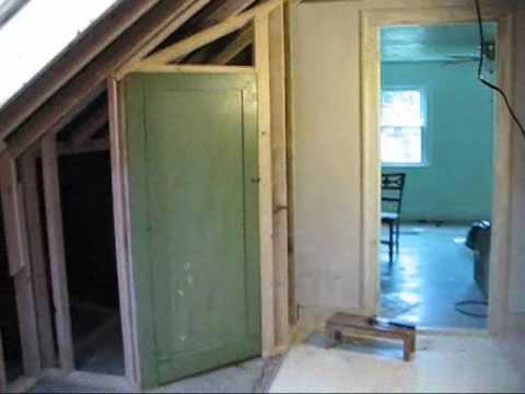Build A Closet With Angled Ceiling Home Decor
