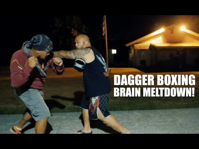 My Brain MELTED! Dagger Boxing with Coach Belton Lubas
