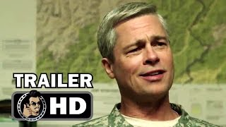 WAR MACHINE Official Trailer (2017) Brad Pitt Comedy Movie HD