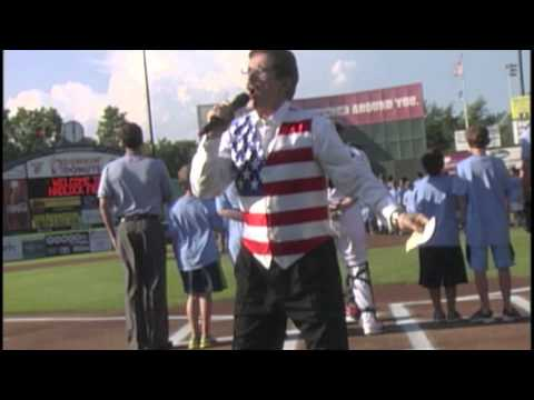 Portland Sea Dogs - Rene Rancourt Sings The Full National Anthem