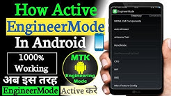 How To Enable Engineering Mode in Any MTK #MediaTek Android Device| Know All Secret Codes & Setting!