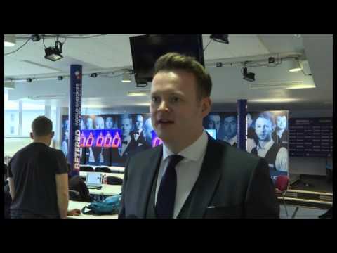 Betfred World Snooker Championship - Shaun Murphy Interview | Betfred TV