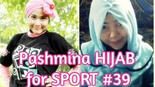Pashmina Hijab Tutorial for Sport by Didowardah Collab with Elvina Utami #39