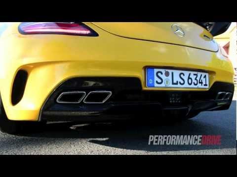 Mercedes-Benz SLS AMG Black Series engine start up and rev