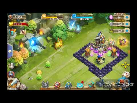 Castle Clash : TH8 HBM G (TH8 Best Account)