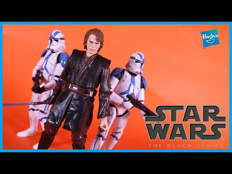 Star Wars The Black Series ARCHIVE ANAKIN SKYWALKER Action Figure Toy Review