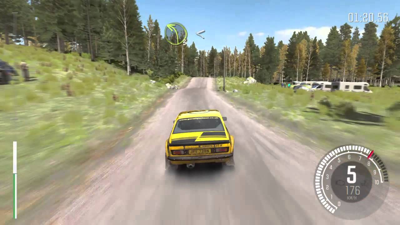 dirt rally ps4 gameplay opel kadett gt e rallye finlande. Black Bedroom Furniture Sets. Home Design Ideas