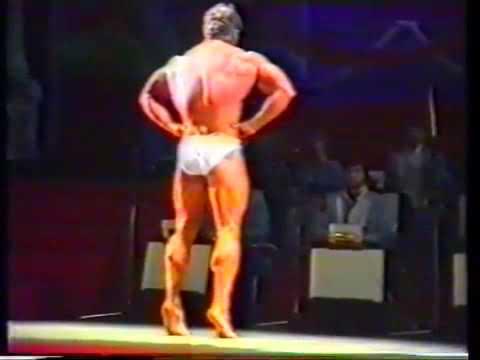 1989 СССР - США, бодибилдинг. Георгий Зобач