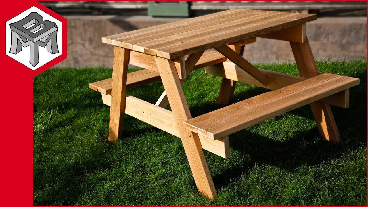 How To Make A Picnic Table Plans And Instructions